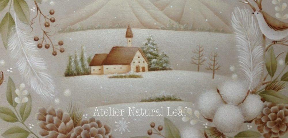 トールペイント  ATelier Natural Leaf