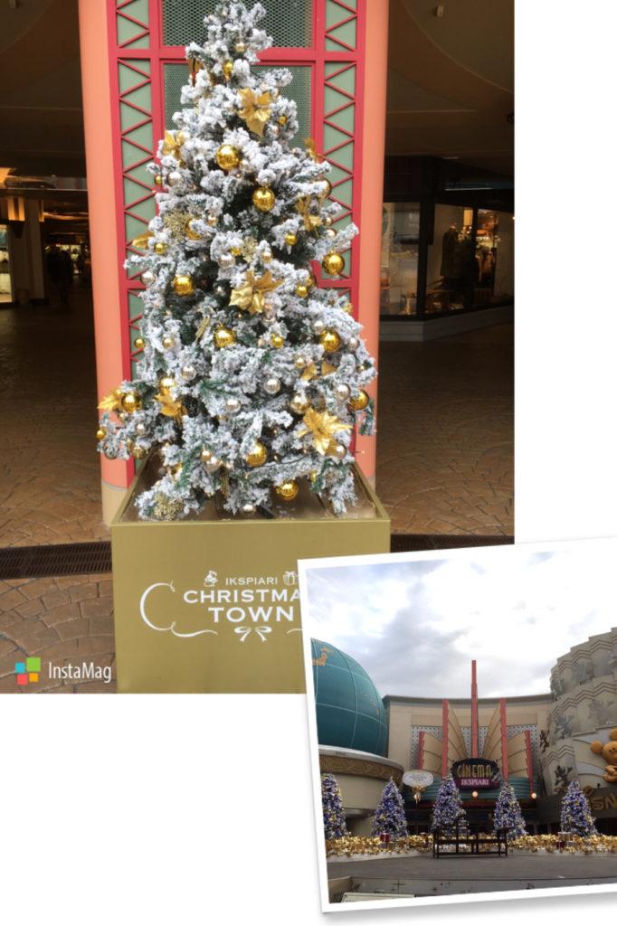 舞浜イクスピアリのクリスマス装飾