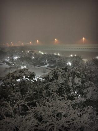やまびこ公園の雪景色