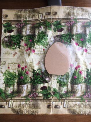 白井里美先生デザインパケット「うさぎのイースターガーデン」素材