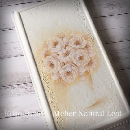 Rose Rose デザイン瀬戸山桂子先生 ペイントNatural Leaf