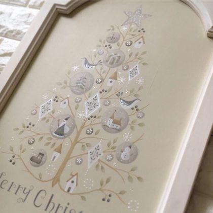 クリスマスツリー ( 鳥バージョン ) デザイン出口むつみ先生 イベント限定デザインテキスト