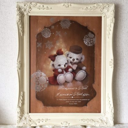 二人のクリスマス デザイン瀬戸山桂子先生 ペイントNatural Leaf